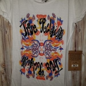 True Religion Tee Graphic Mirrored Colorful